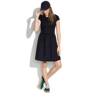 Madewell Ponte Screenplay Skater Dress